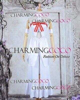 Sword Art Online Cosplay Asuna Yuuki Costume Girl White Elegant Dress Halloween ](Online Halloween Costume)