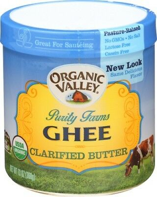 Purity Farms - Purity Farms Ghee Organic Clarified Butter Organic Valley 13 oz Jar