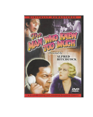 The Man Who Knew Too Much DVD MOVIE 1934 Alfred Hitchcock Leslie Banks Edna Best](Best Classic Horror Movies)