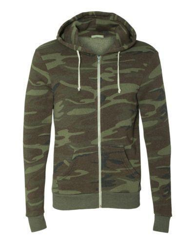 Hooded vest in marled knit featuring zip-up front with kangaroo pocket Lemosery Women's Fashion Camouflage Zip-up Hoodie Camo Long Sleeves Short Jacket Windbreaker Sweatshirt by Lemosery.