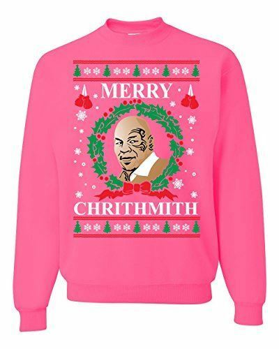 Merry Chrithmith Mike Tyson Ugly Christmas Sweater Funny Unisex