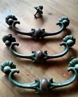 Brass Green Drawer Pull Antique Drawer Pulls