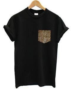ee18d0215241 Leopard Print Pocket T Shirt