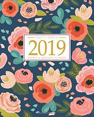 2019 Planner Weekly And Monthly: Calendar + Organizer   - Paperback - 2018