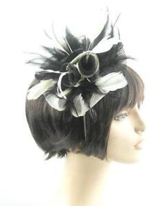Black Fascinator Headbands