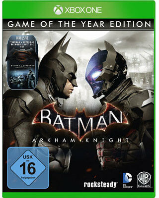 Usado, Xbox One Spiel Batman Arkham Knight Game of the Year Edition GOTY NEUWARE comprar usado  Enviando para Brazil