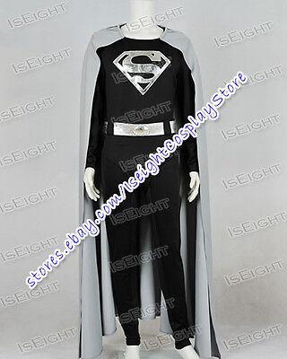 New Superhero Gray Black Jumpsuit Costume High Quality - Quality Superhero Costumes