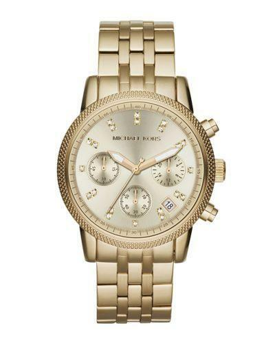 michael kors watches gold tone ebay