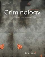 Textbook For Sale: Criminology: A Canadian Perspective