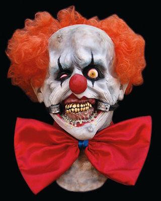 Smiley Evil Clown Latex Mask Killer Klown Halloween Ghoulish - Smiley Killer Mask