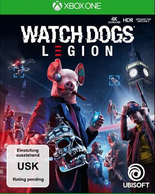 Watch Dogs Legion Xbox-One German Version Preorder