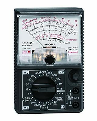 Hioki 3030-10 Analog Multimeter Hitester 600v Ac Tester Meter New Wtracking