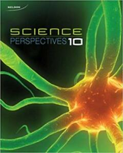 Nelson Science Perspective 10  ---Two textbooks