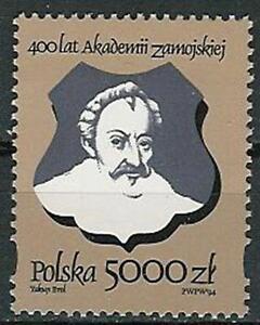 Poland stamps MNH (Mi. 3482) Zamojski academy - <span itemprop='availableAtOrFrom'>Bystra Slaska, Polska</span> - Poland stamps MNH (Mi. 3482) Zamojski academy - Bystra Slaska, Polska