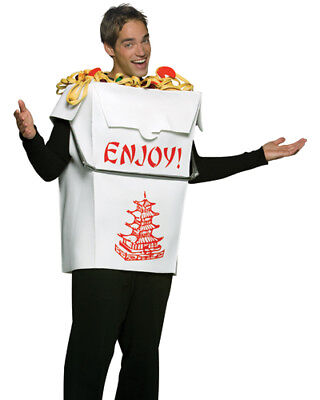 Adult Chinese Take Out - Male Chinese Halloween Costumes