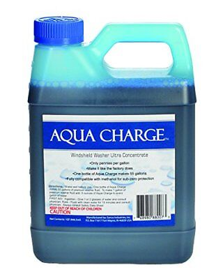 Aqua Charge Windshield Washer Concentrate   Makes 55 Gallons Of Washer Fluid