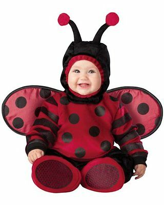 Incharacter Lady Bug Costume Baby Party (6-12 months) Fantasia Infantil Viuvinha](Fantasias Halloween Infantil)