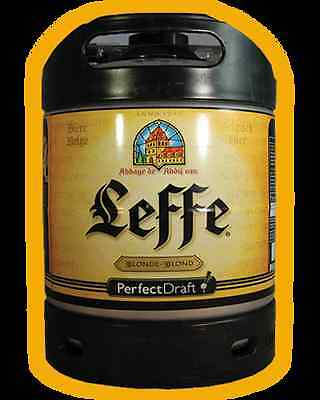 BIRRA LEFFE BIONDA FUSTO L6 PER IMPIANTO SPINA PERFECT DRAFT PHILIPS KIT 1 FUSTO