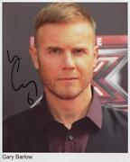 Gary Barlow Signed