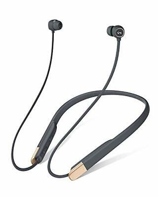 Aukey Auriculares Bluetooth 5, Retransmisión / Pausa Magnética, 8 Horas de segunda mano  Madrid