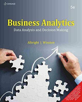 Business Analytics   Data Analysis And Decision Making By Wayne L  Winston  S