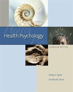 Health Psychology, CDN Edition Hardcover  by Shelley Taylor London Ontario image 1