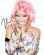 Nicki Minaj Autograph