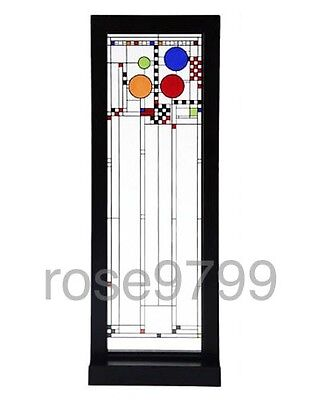Frank Lloyd Wright Coonley Playhouse Left Window Stained Art Glass Panel for sale  Milwaukee