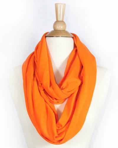 Orange Infinity Scarf Scarves Amp Wraps Ebay