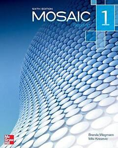 Used Mosaic 1 Reading Student Book North Shore Greater Vancouver Area image 1