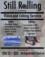 VIDEOGRAPHY/VIDEO EDITING SERVICES!