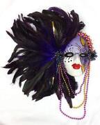 Porcelain Mardi Gras Mask