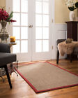 Sisal/Seagrass Red Area Rugs