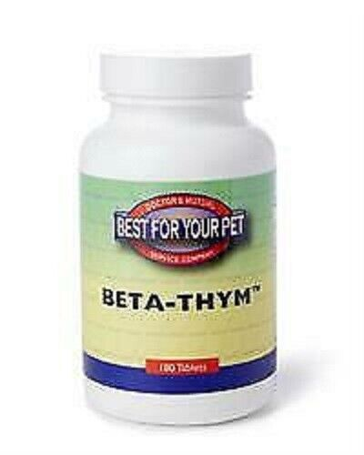 Best For Your Pet Beta-Thym 180 Tabs,The Go To Product For Allergy Relief