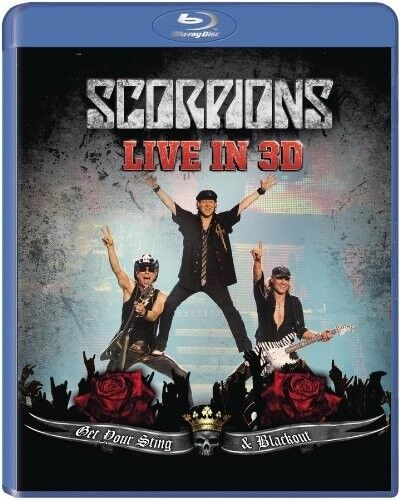 SCORPIONS - GET YOUR STING AND BLACKOUT LIVE 2011 IN 3D - BLU-RAY - NEU!!
