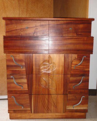 Koa Wood Furniture Ebay