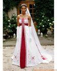 Ball Gown Red Wedding Dresses