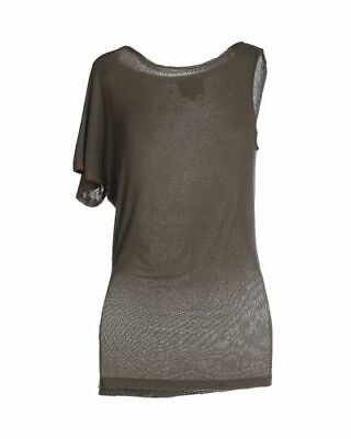 Hotel Particulier asymmetric jersey tunic top Size L