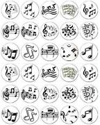 Music Note Cake Toppers