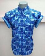 Mens Short Sleeve Patterned Shirts