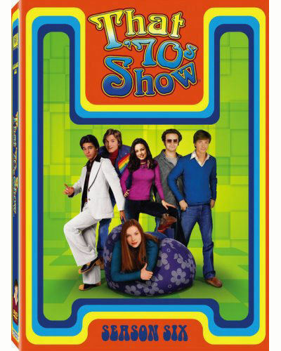 NEW That 70s Show THE COMPLETE 6TH Season SIX 6 DVD 1998 4 Disc Set)TV SHOW 1970