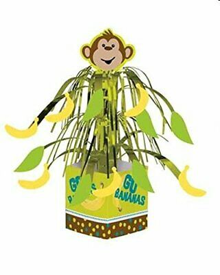 Monkey Themed Birthday Party (Monkeyin' Around party supplies Monkey theme Centerpiece)