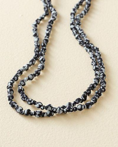 silk bead necklace ebay