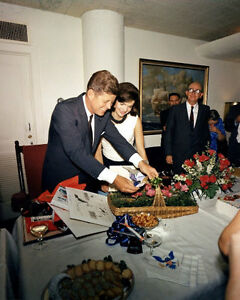 John-F-Kennedy-Jackie-Photo-8X10-JFK-Birthday-1963-White-House-President