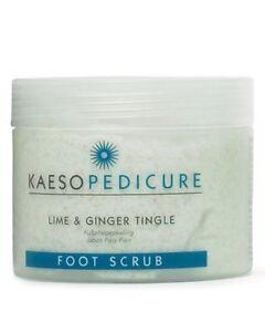 KAESO BEAUTY LIME & GINGER TINGLE FOOT SCRUB - 450ml pedicure