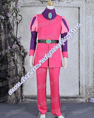 Adventure Time Cosplay Prince Gumball Costume Prince Pink Uniform Suit Halloween (Gumball Halloween Costume)