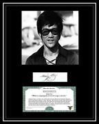 Bruce Lee Autograph