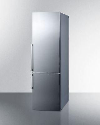 Energy Star Certified Bottom Freezer Refrigerator - Stainless Steel (Bottom Freezer Energy Star Refrigerator)