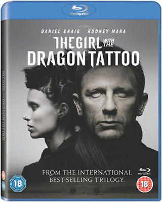 The Girl With The Dragon Tattoo Blu Ray (Daniel Craig) Disc Only