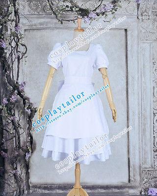Alice Madness Returns Halloween Costume (Alice Madness Returns Alice White Dress Sweet Girl Halloween Cosplay)